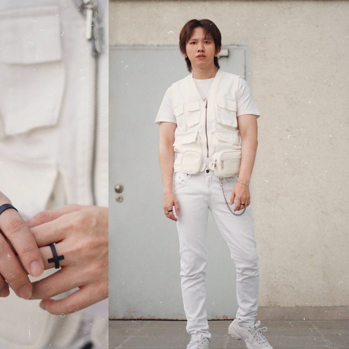 HOW TO STYLE YOUR UTILITY VEST / GILET